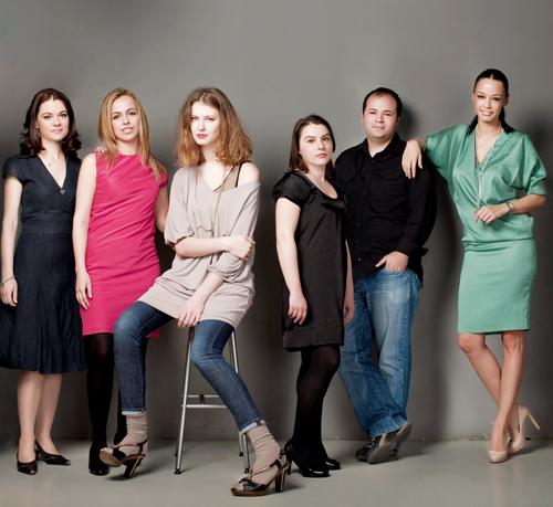 Cristiana Constantinescu, Oana Popoiag, Andreea Constantin, Angelica Bobocea, Dan Serban, Andreea Raicu