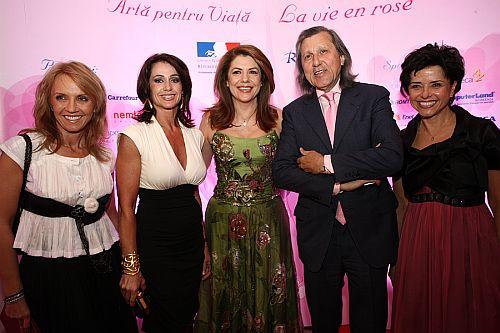 Camelia Sucu, Nadia Comaneci, Mihaela Geoana, Ilie Nastase, Cristiana Copos