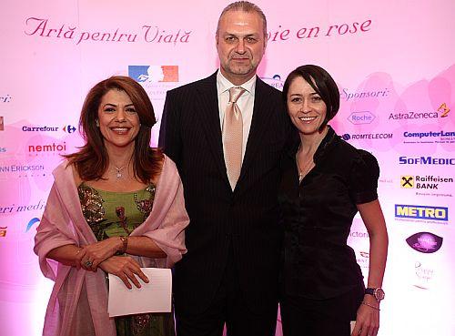 Mihaela Geoana, Marius Ivan, Amalia Nastase