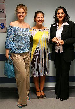 Bianca Brad, Dorotheea Petre, Wajiha Haris