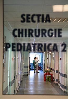 Spitalul Marie Curie, partea renovata