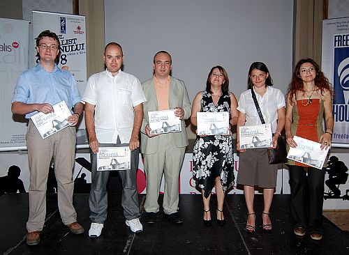Castigatorii 2008 Tanarul Jurnalist