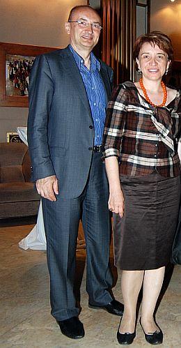 Florin Pogonaru, Cristina Guseth
