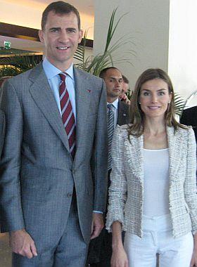 Printul Felipe, printesa Letizia
