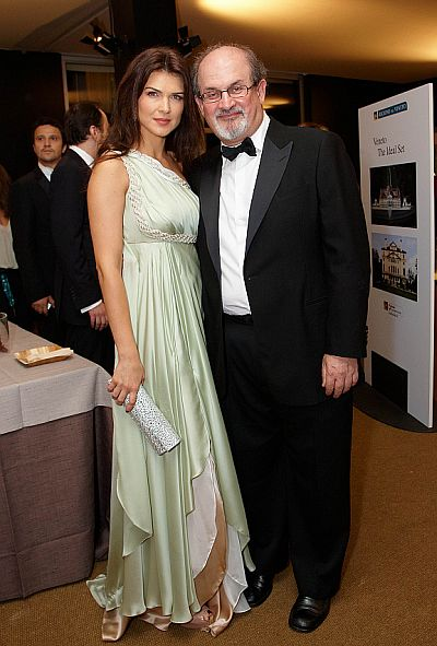 Monica Barladeanu, Salman Rushdie