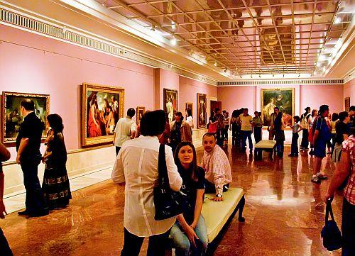 MNAR, Galeria de arta europeana